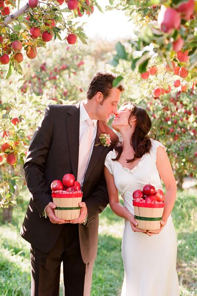 jabłka motyw przewodni wesela