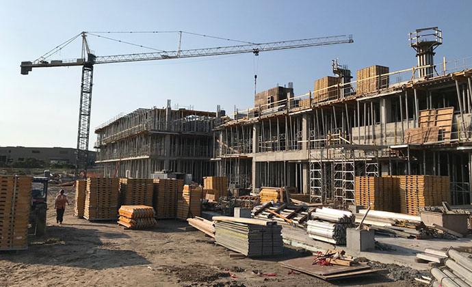 Progress on the new Campus