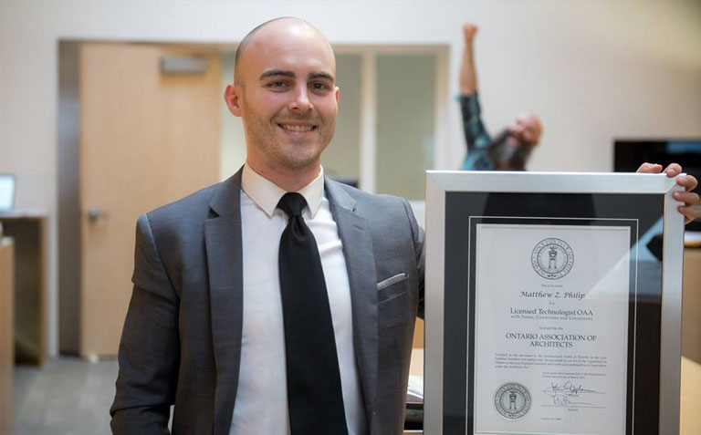 Congratulations Matthew!