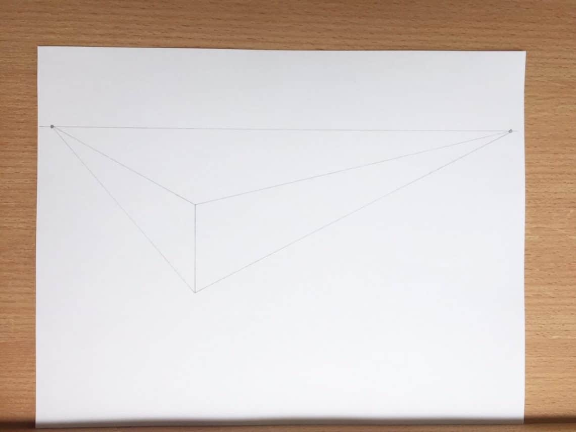 How To Draw Letters In A 2 Point Perspective