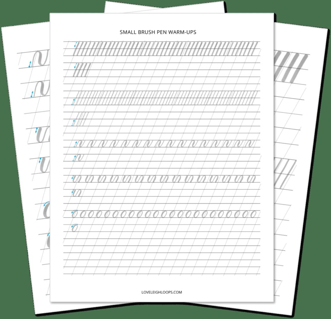 How To Do Brush Lettering