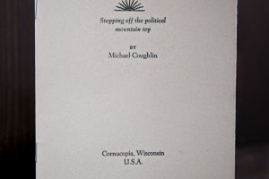 Hallelujah pamphlet by Michael Coughlin