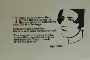 Ayn Rand broadside quote