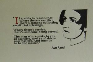 Ayn Rand broadside quote