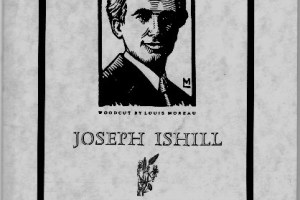 the dandelion issue devoted to Joseph Ishill