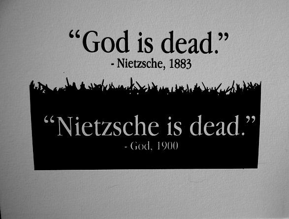 God answers Nietzsche