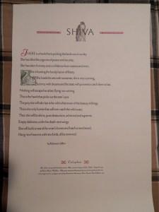 Robinson Jeffers Shiva