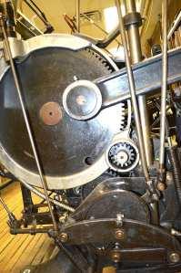 Letterpress drive gear