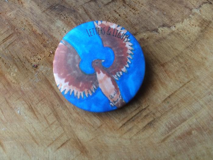 Ravenclaw button