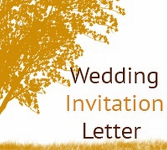 Email Wedding Invite To Colleagues Invitation Sle