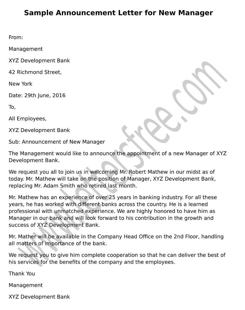 Office Relocation Letter Template Employees