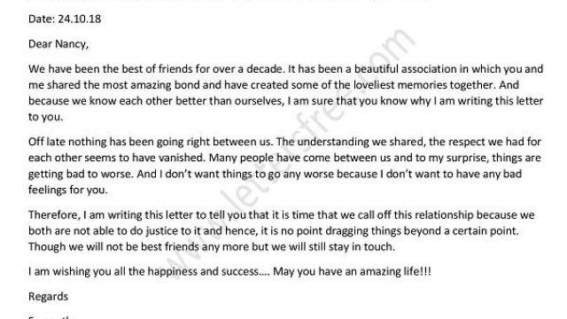 A Break-Up Letter to The Best Friend Who Broke My Heart