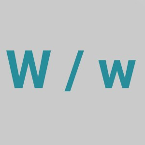 letter w, The Letter W