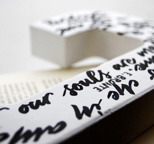 Idee regalo originali: le vostre frasi preferite / citazioni scritte a mano