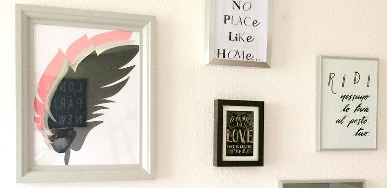 """Affiche en italien """"RIDI Nessuno lo farà al posto tuo"""" - Vos Photos - Calligraphie Letters Love Life"""