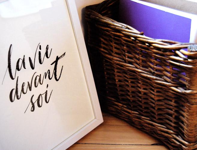 Vos Mots En Calligraphie Letters Love Life