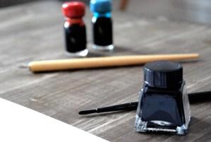Calligrafia realizzata con pennello e inchiostro nero | Marika Salerno, Letters Love Life