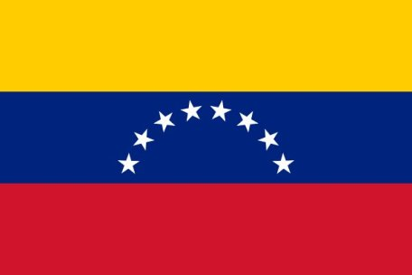 Yeah, um, no, guys. That would be the Venezuelan flag.