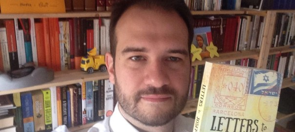 photo of Josep holding Letters to Josep