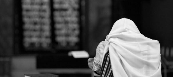 illustrative photo of man wearing prayer shawl