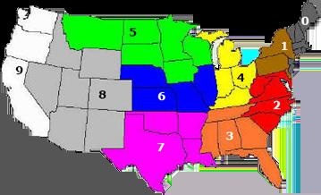 Fedex Zone Map By Zip Code | Zip Code Map