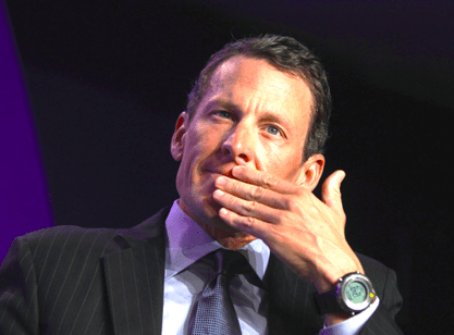 Lance Armstrong Interview photo