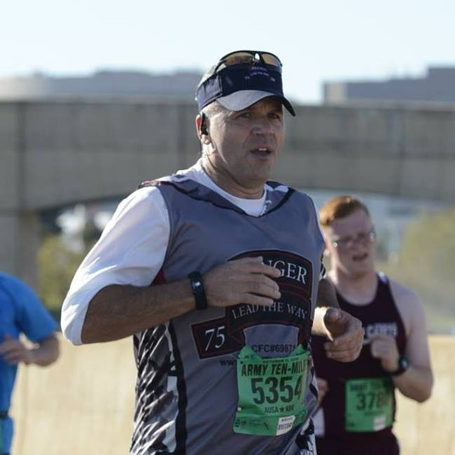 Running the Army Ten miler under 80 minutes is a clear goal.