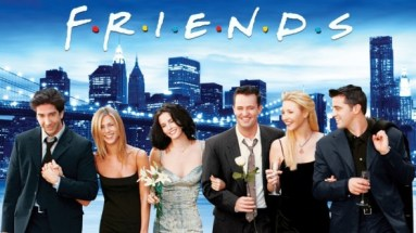 Friends - popular comedy from the 90s