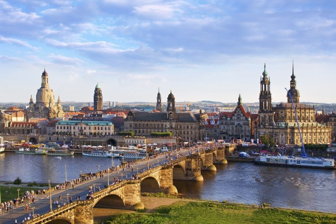 "Oma is from Dresden Germany. It is known as ""Florence on the Elbe""."
