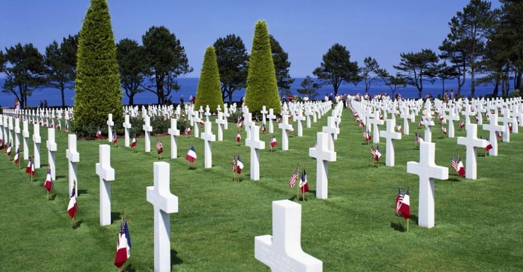 Graveyard at Normandy