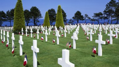 Graveyard at Normandy