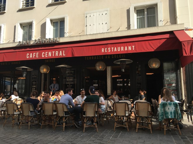 Cafes are a great place to get French food at a reasonable price, especially in Paris.