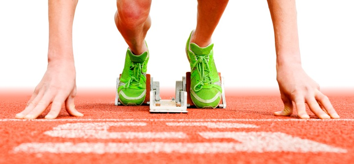 Don't get stuck in the starting blocks