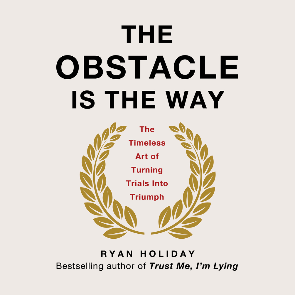 The Obstacle is the Way is a great book about dealing with challenges.
