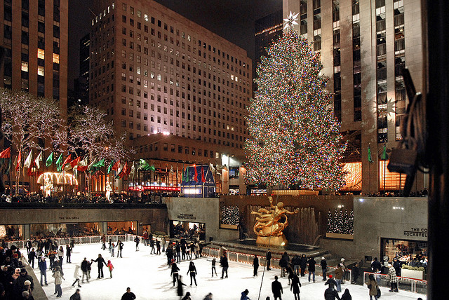 Christmas tree NY