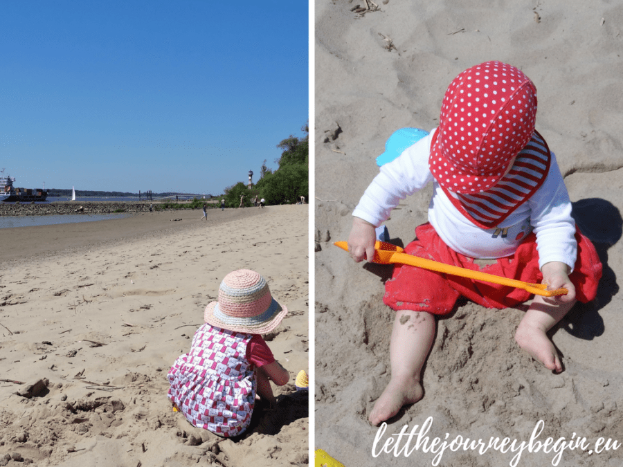 Family staycation in Hamburg - Falkensteiner Ufer