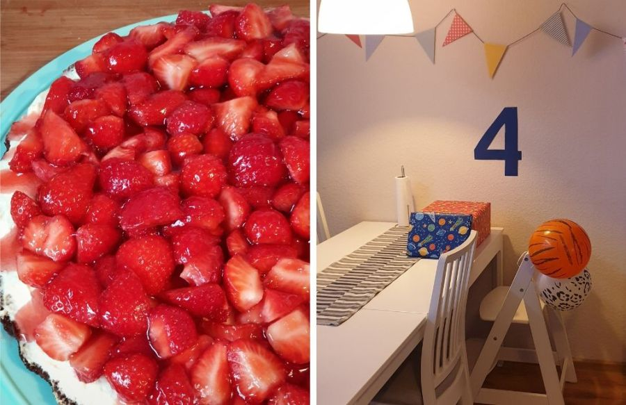 4th birthday celebration at home | Coronavirus Chronicles: Week 9 | Let the Journey Begin