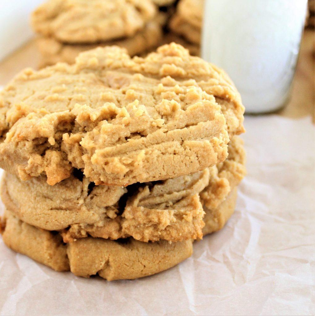 amazing gluten free peanut butter cookies