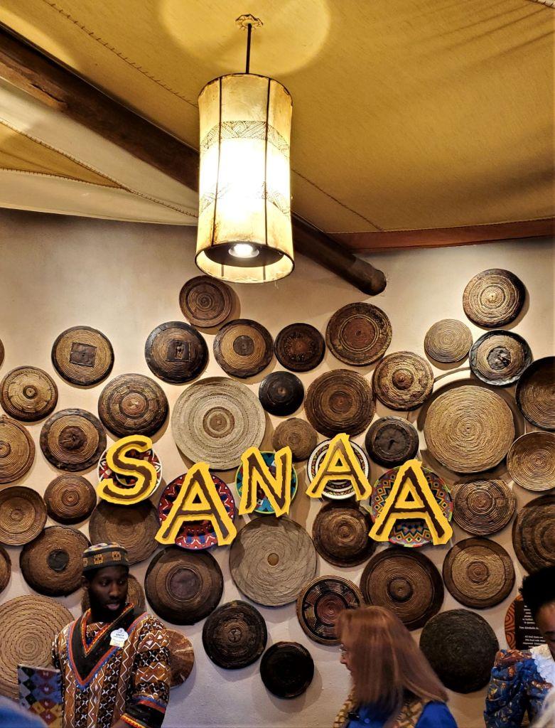 sanaa at disney's animal kingdom lodge