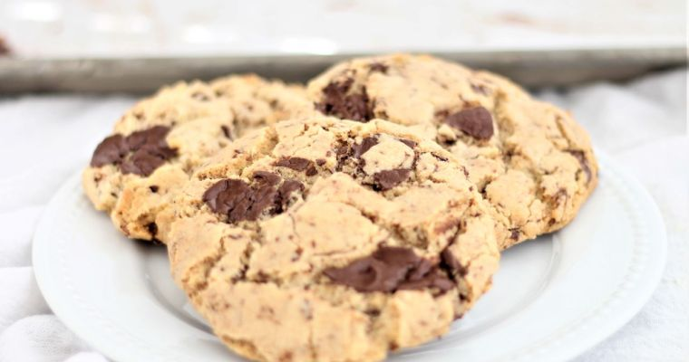 Gluten Free Brown Butter Chocolate Chunk Cookies