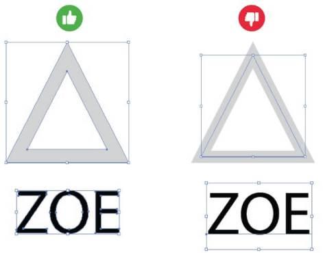Lettres formes découpées effet relief sur-mesure fichier vectorisé fusionné