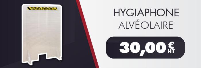 Hygiaphone alvéolaire