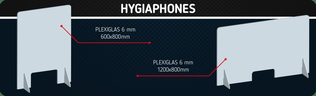 Hygiaphones disponibles