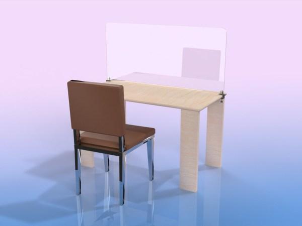 Séparateur de table 1 place