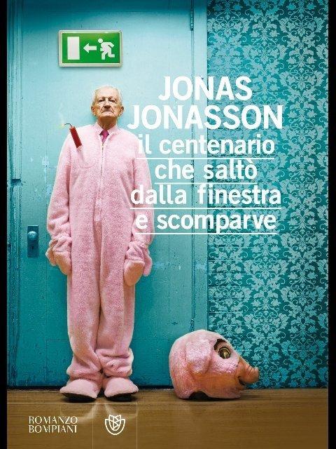 """la cover de """"Il centenario che saltò dalla finestra e scomparve"""