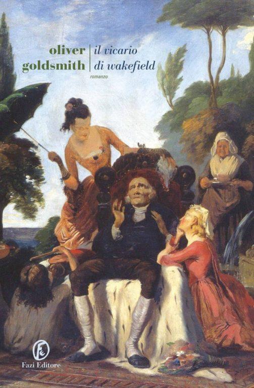 """La copertina de """"Il vicario di Wakerfield"""", Goldsmith, Fazi Editore"""