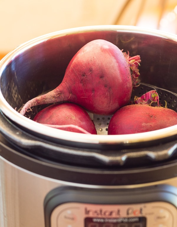 Beets in Instant Pot for How to Cook Beets in a Pressure cooker