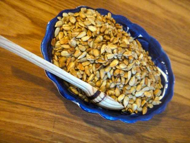 How to Make Tamari Roasted Sunflower Seeds