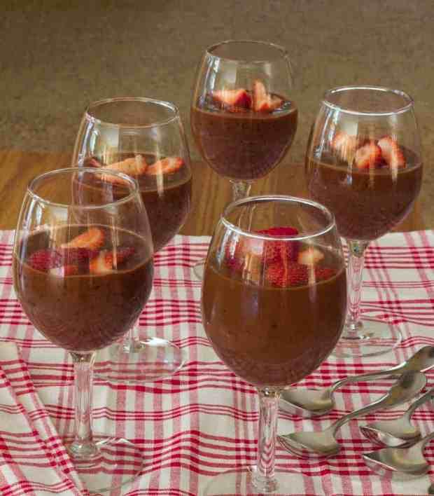 Dark Chocolate Tapioca Pudding