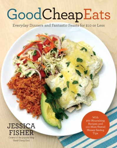 Good Cheap Eats book cover for Skillet Poached Eggs with Spinach